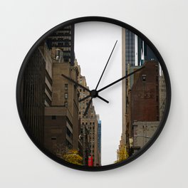 Fall Heights Wall Clock