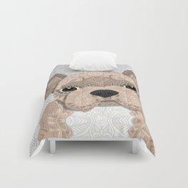 Beige Frenchie Puppy 001 Comforters