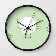 Hula-Hoop Champion Wall Clock