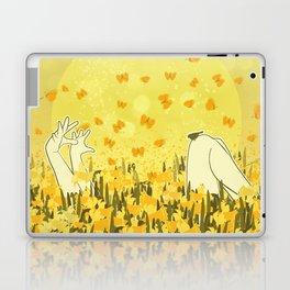 Yellow Effervescence Laptop & iPad Skin