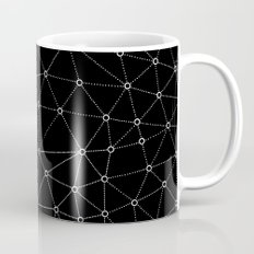 African Triangle Black Coffee Mug