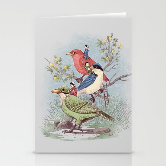 Ready to take off Stationery Cards
