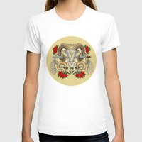 aries T-shirts featuring Aries by StudioBlueRoom