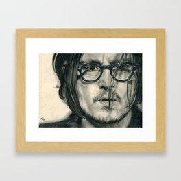 Secret Window Traditional Portrait Print Framed Art Print