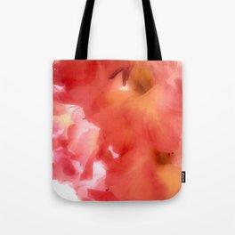 Soft Red Gladiola Tote Bag