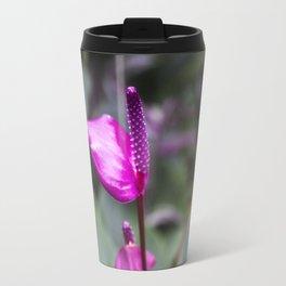 pink flowers • nature photography Travel Mug