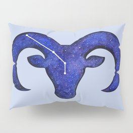 Astrological sign aries constellation Pillow Sham