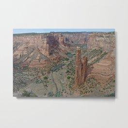 Canyon de Chelly Spider Rock Metal Print