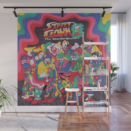 Street Fighter Clown Edition Wall Mural