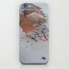 Pencil shavings iPhone 6s Slim Case
