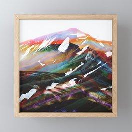Abstract Mountains II Framed Mini Art Print