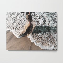 the first wave Metal Print