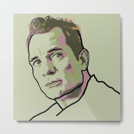 Jack Kerouac Metal Print