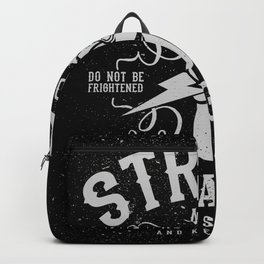 Strong and Courageus Backpack