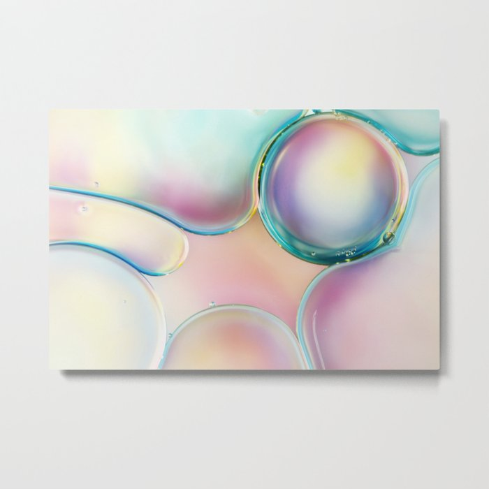 Bubble II Metal Print