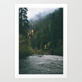 East Fork Hood River Art Print