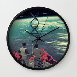 Distance And Eternity Wall Clock