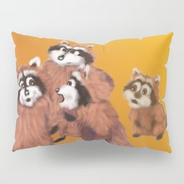 Raccoon Series: Discussion Pillow Sham