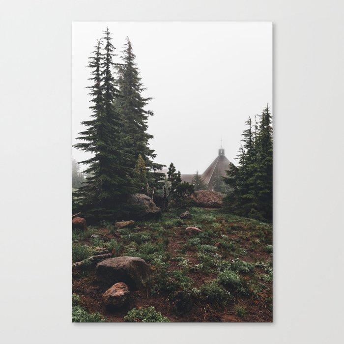 Timberline Lodge Canvas Print
