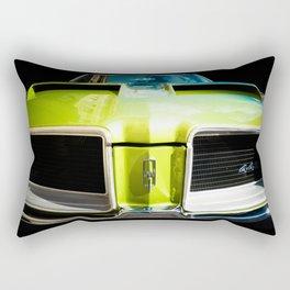 Auto Parts:  Green Machine! - Center Version Rectangular Pillow