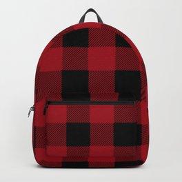 Red Buffalo Plaid Backpack