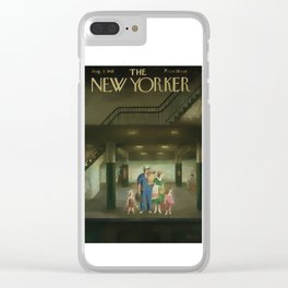 Vintage New Yorker Cover - Circa 1949 Clear iPhone Case