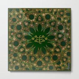 Emerald Ringstone symbol Metal Print