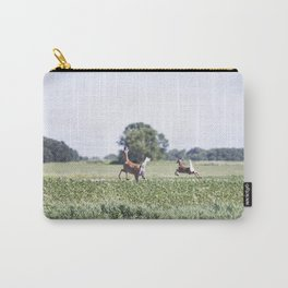 Whitetail Deer Doe and Fawn Carry-All Pouch
