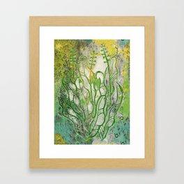 Summer Herbs Framed Art Print