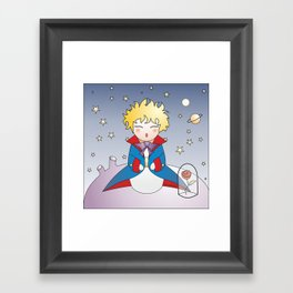 Kokeshi The little prince Framed Art Print