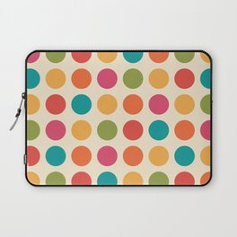Mid Century Color Dots Laptop Sleeve