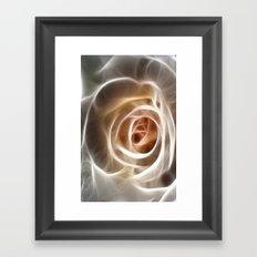 Rose Glow Framed Art Print