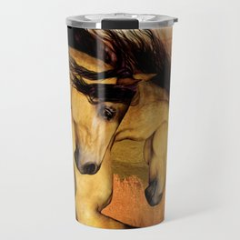 HORSES - The Buckskins Travel Mug