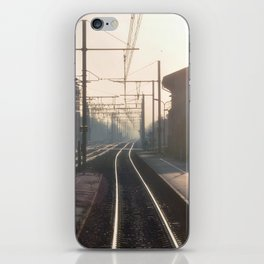 The Blurry Memory Of Leaving Home iPhone Skin