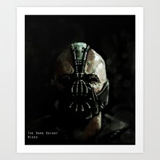 Gotham's Reckoning  Art Print