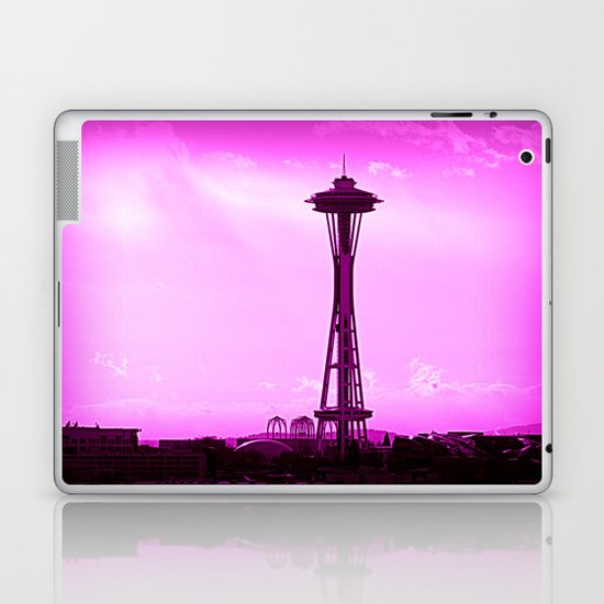 Space Needle Laptop & iPad Skin