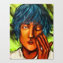 Bed Head (Colorful Portrait) Canvas Print