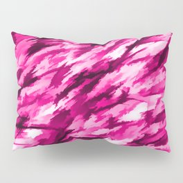 Designer Camo in Hot Pink Pillow Sham