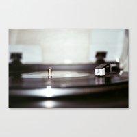 vinyl Canvas Prints featuring Vinyl by Jacbo