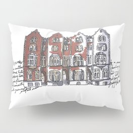 York, England Pillow Sham