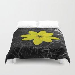 Yellow Flower - Colour Splash Duvet Cover