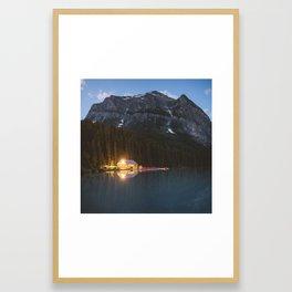 Lake Louise Boat House | Banff National Park, Alberta, Canada | John Hill Photography Framed Art Print