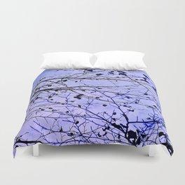 boughs ultraviolet Duvet Cover