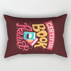 Certified Book Addict Rectangular Pillow
