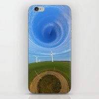 wind iPhone & iPod Skins featuring Wind by Sébastien BOUVIER