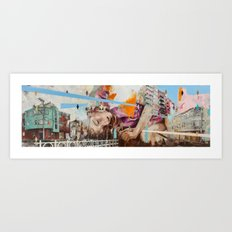 North/South Art Print