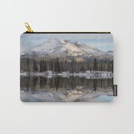 Broken Top sunrise reflection Carry-All Pouch