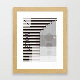 space artwork Framed Art Print