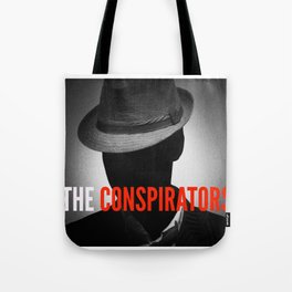 The Conspirators Podcast Show Art Tote Bag