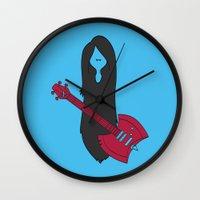 marceline Wall Clocks featuring Marceline Variant by SBTee's